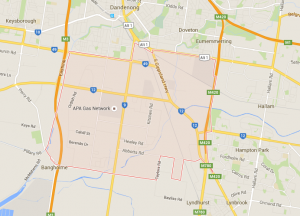 service area for lawnn mowing dandenong south